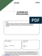 Catia v5 Assemblies Procedures