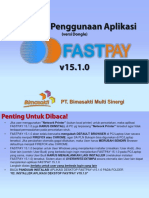 1a. Panduan Penggunaan Aplikasi FASTPAY v.15.1.0 Dongle