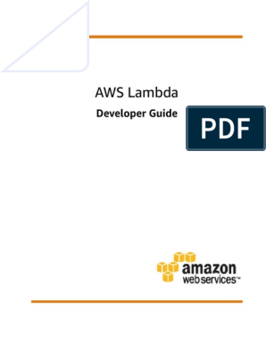 lambda-dg | Amazon Web Services | Areas Of Computer Science