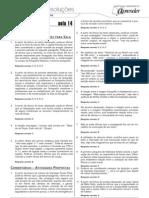 Português - Caderno de Resoluções - Apostila Volume 3 - Pré-Universitário - port4 aula14