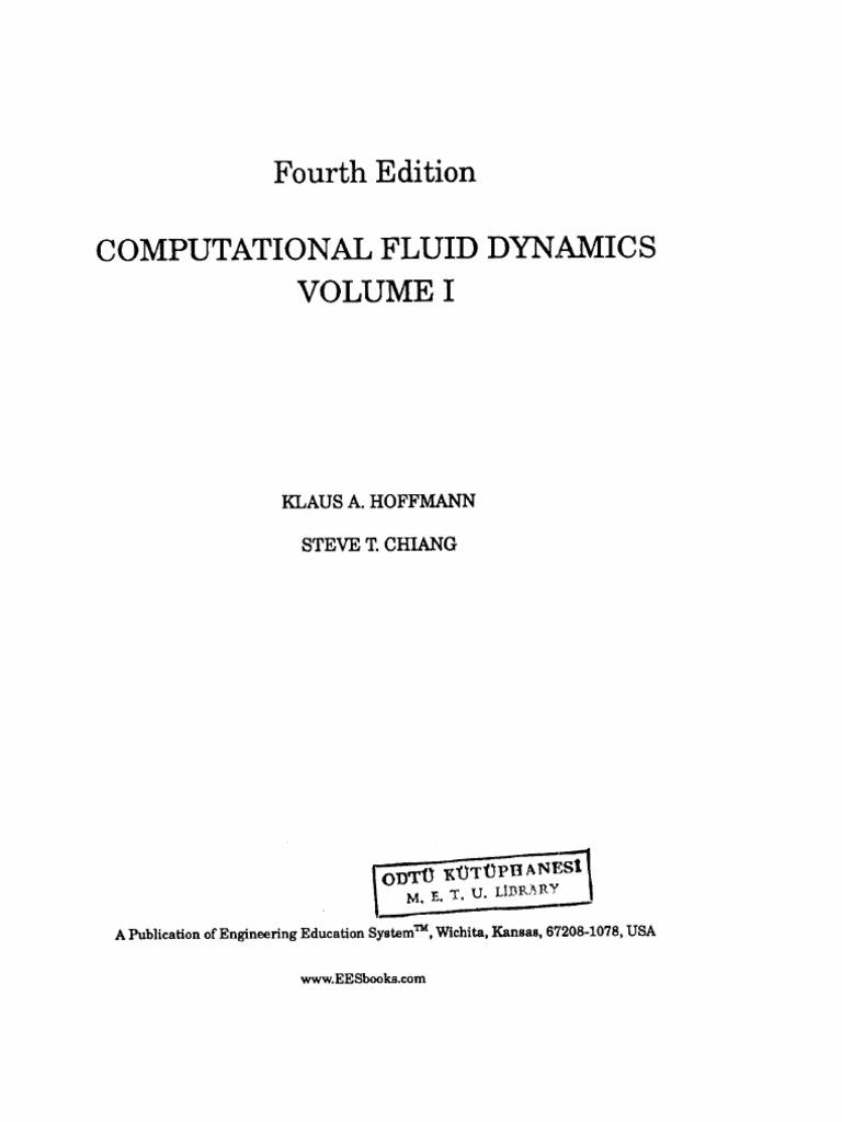 computational fluid dynamics vol i hoffmann rh scribd com Student Solutions Manual Engineering Solutions Manual