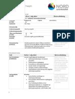 Emnebeskrivelse - Norsk Xxx Innføring i Informasjonsteknologi