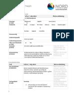 Mal Emnebeskrivelse - Norsk Xxx Risk Management