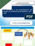 Diapositiva Para Sustentación Ucv