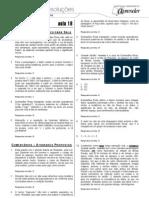 Português - Caderno de Resoluções - Apostila Volume 4 - Pré-Universitário - port3 aula18