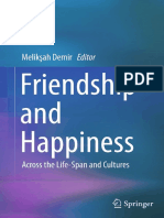Friendship and Happiness - Across the Life-Span and Cultures