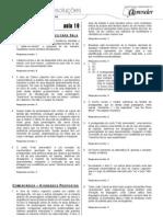 Português - Caderno de Resoluções - Apostila Volume 4 - Pré-Universitário - port3 aula19