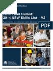 2014 Skills List at Qualification V2