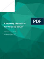 Kaspersky Security 10 for Windows Server, Admin Guide - Ks4ws_admin_guide_en