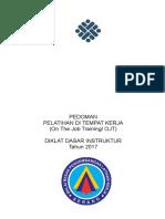 Pedoman OJT 2017 Dikdas