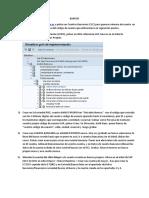 Ejercicio de Contabilizacion FICOAM 7 Registros Maestros de Bancos Propios y Cuentas Bancarias