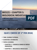 05 - Biological Molecules II