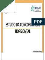 PG - Parte 2 - Estudo Da Concordância Horizontal - Revisão 022013