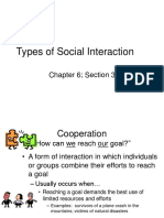 Patterns of Social Interaction Notes