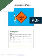 Seção 5 Sinalização de Obras [Modo de Compatibilidade]