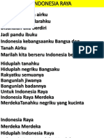 Indonesia Raya Powerpoint