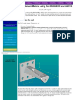 Finite Element Using Ansys