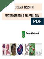 Bab 12 Materi Genetik & Ekspresi Gen