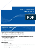TF9 DVB-T2 Performance Fixed Reception