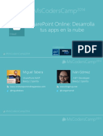 SharePoint Online Desarrolla Tus Apps en La Nube