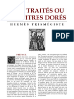 Hermès Trismégiste - Sept traités ou chapitres dorés