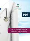 MOH Pocket Manual in Obstetrics and Gynaecology