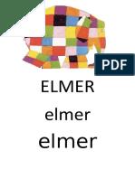 Affiche Du Nom Elmer