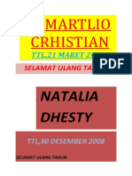 MARTLIO CRHISTIAN