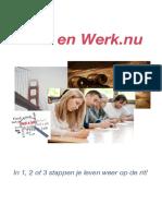 Brochure Work and Money