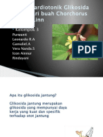 Aktifitas Kardiotonik Glikosida Jantung dari buah Chorchorus Aestuans.pptx