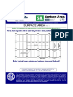 Surface Area structural steel.xls