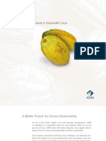 ADM Cocoa Sustainability Brochure