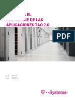 Requerimientos Servidores Certificados Tao2