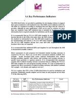 NCAAA KPIs