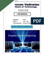 Cs6612 Compiler Laboratory