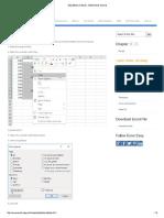 1.1.5 Skip Blanks in Excel - EASY Excel Tutorial