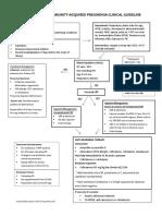 Pediatric Community-Acquired Pneumonia Clinical Guideline