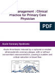 ACS Management Clinical Practice for Primery Care Physician