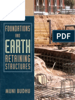 Foundations and Earth Retaining Structures Muni Budhu