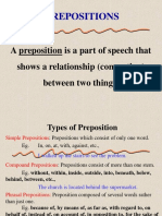 Preposition Civil