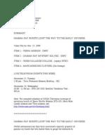 Official NASA Communication m99-242