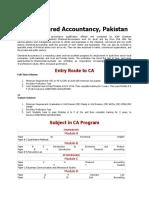 CA Chartered Accountancy