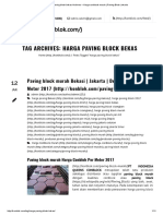 Harga Paving Block Bekas Archives – Harga Conblock Murah _ Paving Block Jakarta