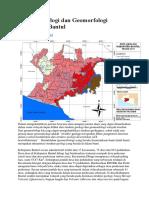 Analisis Geologi Dan Geomorfologi Kabupaten Bantul