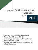 Upaya Puskesmas (dr Yuniar) 15-3-2017.pptx