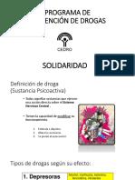Programa de Prevención de Drogas
