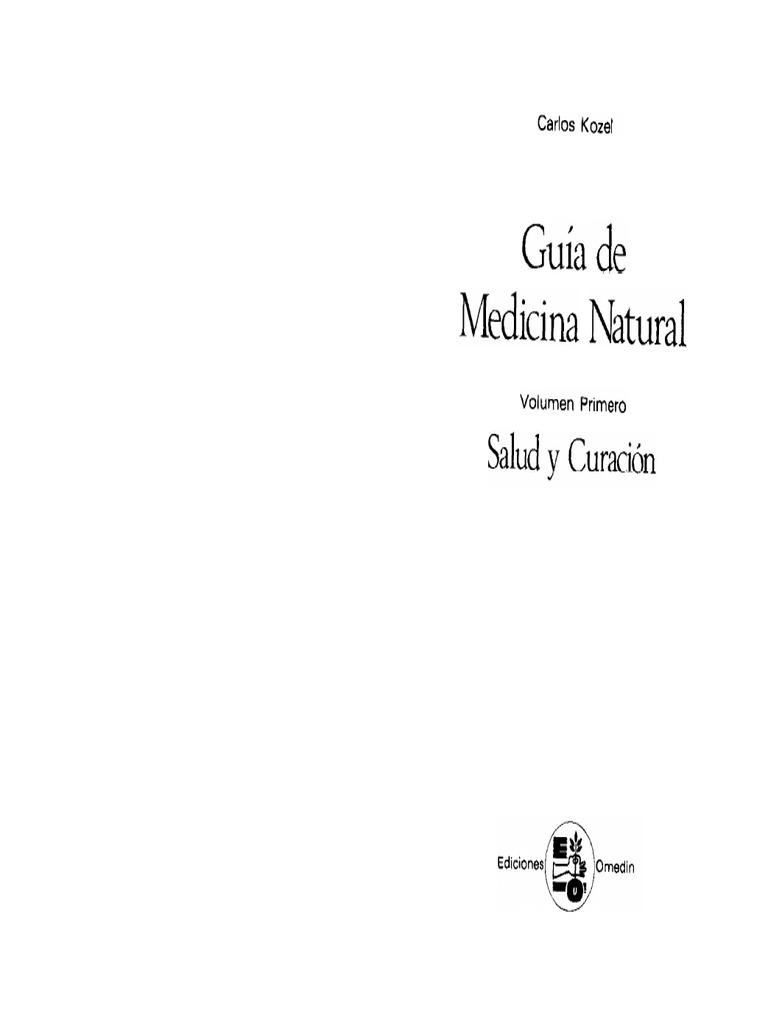 Guia de Medicina Natural Vol I Carlos Kozel