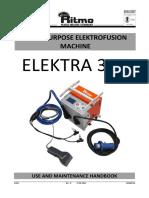 Ritmo Elektra 315 User Manual