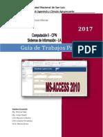 Guía de Trabajos prácticos de  Access