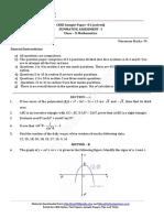 10 Mathematics Sa1 Sp 2015 New